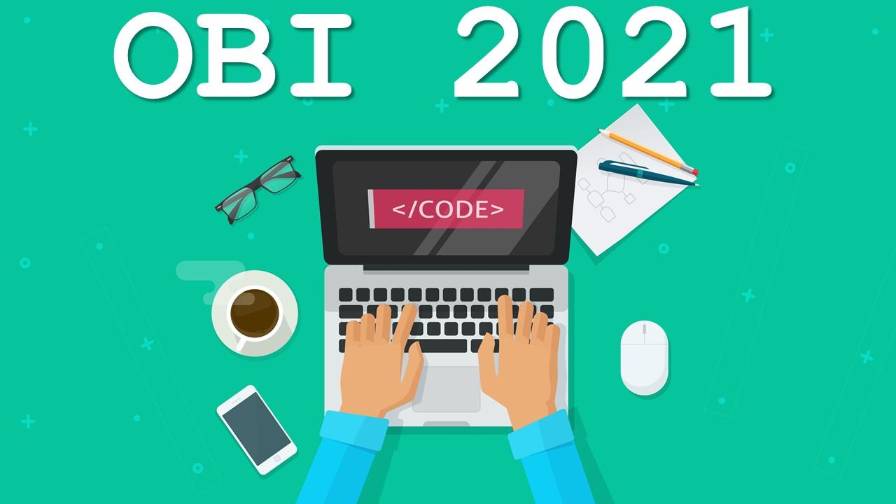 Treinamento para Olimpíada Brasileira de Informática 2021 - 1° Semestre